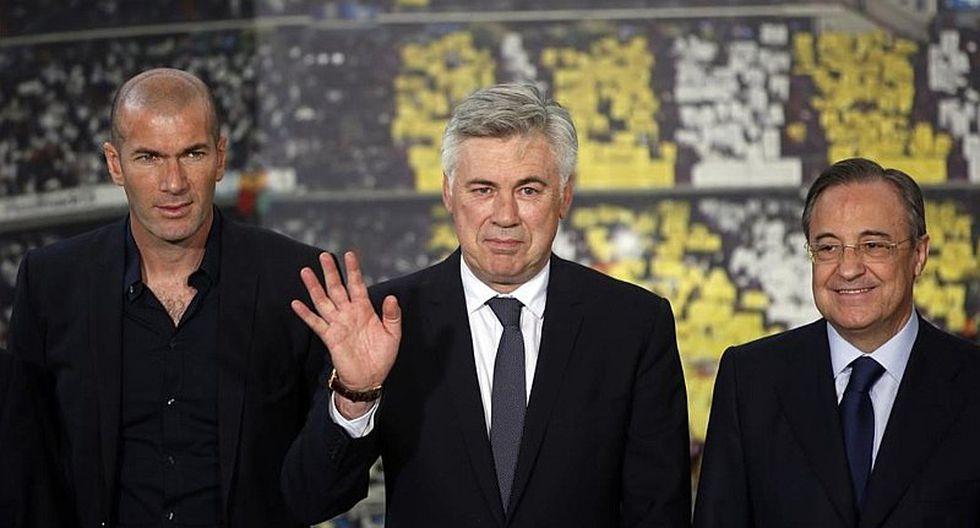 Ancelotti y los 4 jugadores que le quiere quitar al Real Madrid
