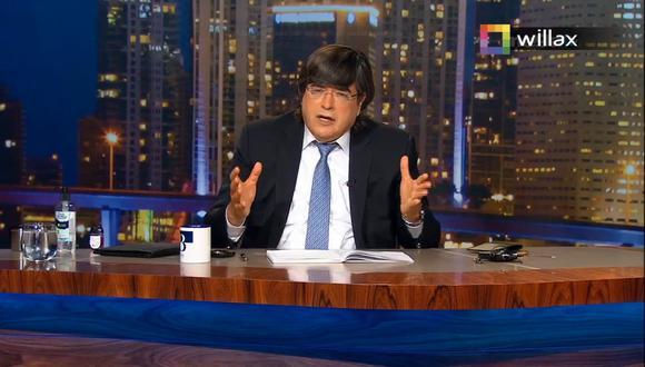 Jaime Bayly aseguró que escuchar las ideas de Vladimir Cerrón, jefe ideológico de Pedro Castillo, es un peligro para el país.