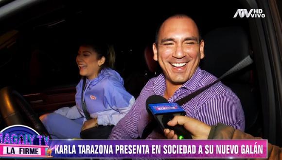 Karla Tarazona se dio una nueva oportunidad en el amor. (Foto: Captura Magaly TV: La Firme)