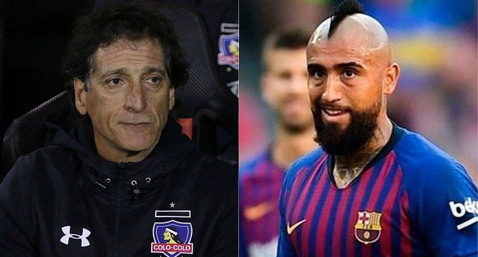 Barcelona: hincha de Liverpool se burla de Arturo Vidal y le recuerda al Colo Colo de Mario Salas | FOTO