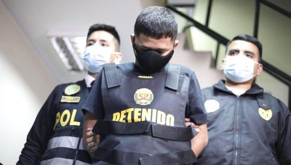 Aldair Anthony Romero Montalvo  fue detenido en Breña por la Policía: (César Bueno/@photo.gec)