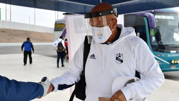 Roberto Mosquera reconoció el triunfo de Ayacucho FC. (Foto: @LigaFutProf)