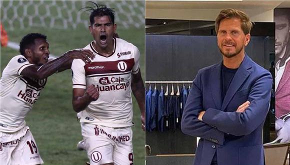 Universitario de Deportes entregó un par de regalos al periodista argentino Sebastián 'El Pollo' Vignolo. (Foto: GEC/Instagram)