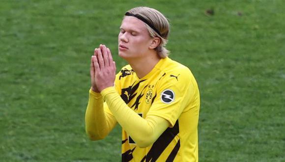 Erling Haaland llegó a Borussia Dortmund en la temporada 2019. (Foto: AFP)