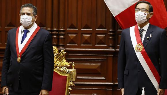 Martín Vizcarra deberá responder ante el pleno, ya sea en persona o a través de un abogado, este viernes. (Foto: Presidencia de la República).