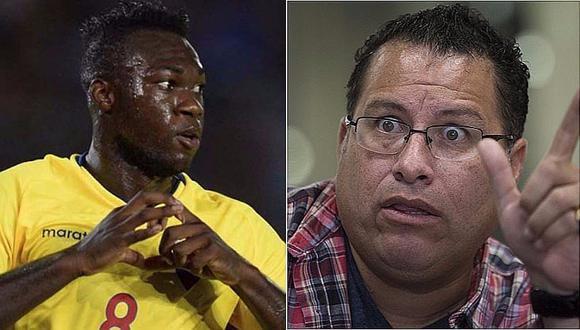 Phillip Butters: Gobierno de Ecuador se pronunció por racismo con Caicedo