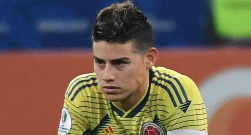 James Rodríguez fue desconvocado por Colombia y no estará presente ante la selección peruana | FOTO: AFP