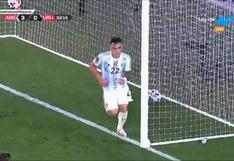 Argentina vs. Uruguay: Lautaro Martínez anota el 3-0 para asegurar el partido de las Eliminatorias   VIDEO