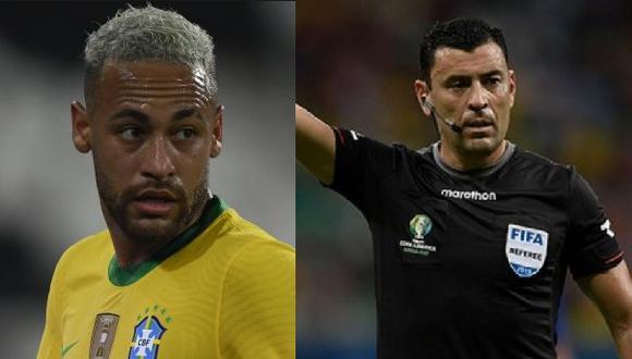 El capitán brasileño arremetió contra el árbitro Roberto Tobar