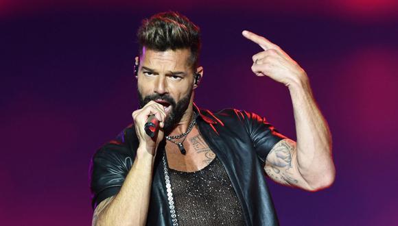 """""""Qué Rico Fuera"""": Ricky Martin estrena nueva canción con Paloma Mami. (Foto: PABLO PORCIUNCULA / AFP)."""