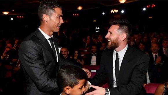 Lionel Messi elogió a Cristiano Ronaldo por su triplete al Atlético