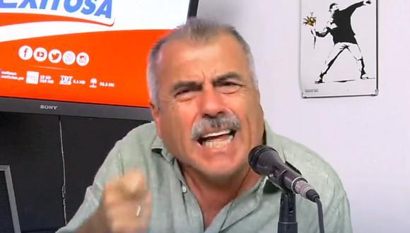 Nicolás Lúcar explotó contra el Gobierno. (Foto: Captura Exitosa).