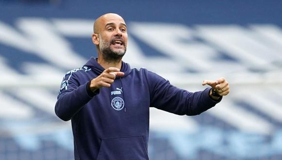 Pep Guardiola analizó las posibilidades de Manchester City frente a Real Madrid. (Foto: AFP)