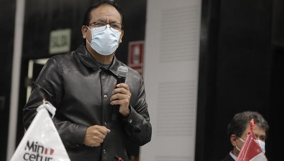 El ministro Roberto Sánchez afirma que las decisiones de gobierno las toma el presidente Pedro Castillo. (Foto: GEC)