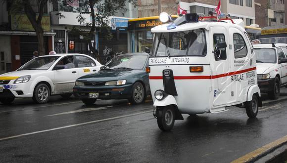 También serenos a bordo de mototaxis se sumarán a la lucha contra la delincuencia en el distrito de San Juan de Lurigancho. (Foto: Referencial/Andina)