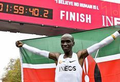 ¿Por qué no es oficial el récord del keniata que corrió una maratón en menos de dos horas?