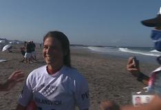 Lo consiguió: Sofía Mulanovich clasificó a la ronda 3 de Surf en los Juegos Olímpicos Tokio 2020