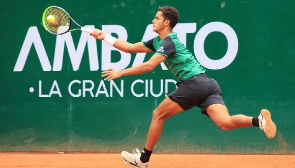 Juan Pablo Varillas avanzó a la final del ATP Challenger Tour de Ambato. (Foto: KC Tenis)