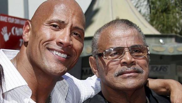 La leyenda  de la lucha libre y la WWE Rocky Johnson falleció a los 75 años de edad. La noticia conmocionó a todos los seguidores de 'The Rock'.  (Foto: Captura de pantalla)