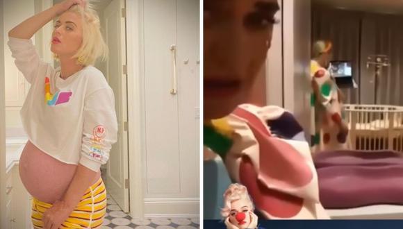 Katy Perry mostró los muebles, decoraciones, ropa y zapatos que adquirió para su bebé, quien ya está próxima a nacer. (Instagram: @katyperry / Captura de pantalla / YouTube)