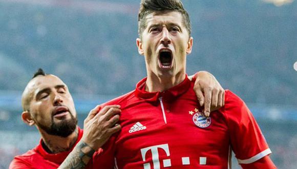 Real Madrid vs. Bayern Múnich: Lewandowski marcó de penal [VIDEO]