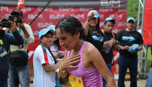 Gladys Tejeda ganó medalla de oro en la Maratón de Guatemala [FOTOS]