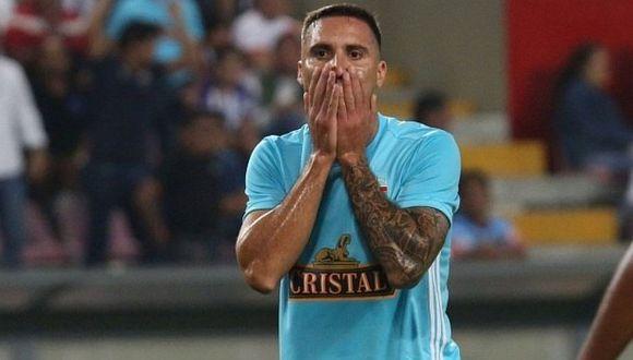 Sporting Cristal: Emanuel Herrera se pierde el resto de la temporada por rotura del tendón