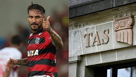 Paolo Guerrero queda habilitado tras documento del TAS al Flamengo