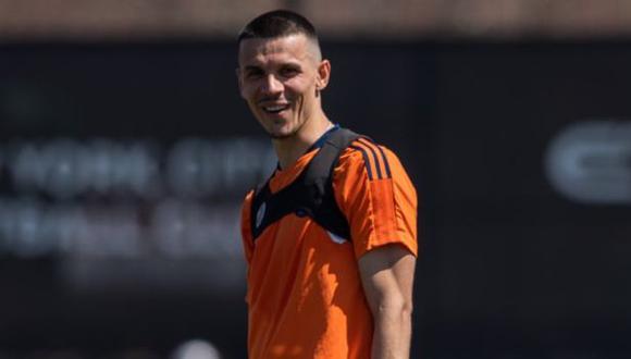 Alfredo Morales ha jugado en Hertha Berlin, Ingolstadt y Fortuna Dusseldorf en el fútbol alemán. (Foto: New York City)