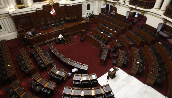 Fragmentado. El próximo Congreso tendría hasta 11 bancadas, según el boca de urna de Ipsos Perú. (Foto: Renzo Salazar / GEC)