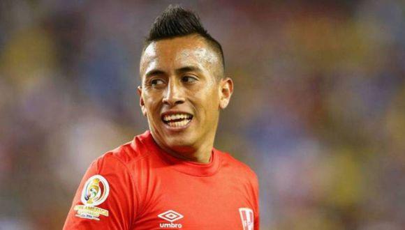 Christian Cueva, futbolista de Pachuca de México