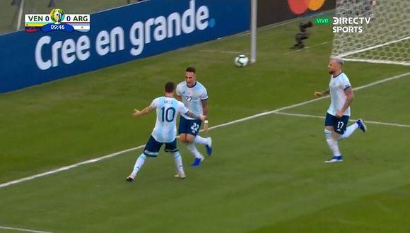 Argentina vs. Venezuela: Lautaro Martínez y el golazo de taco con 'huacha' incluida a Wuilker Fariñez | VIDEO