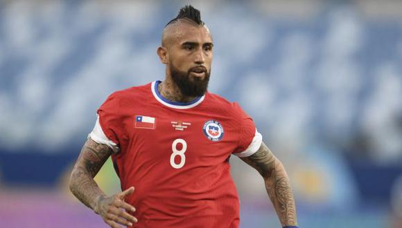 Arturo Vidal ha anotado cuatro de los ocho goles que tiene Chile en las Eliminatorias Qatar 2022. (Foto: AFP)