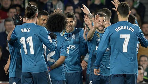 Real Madrid volteó y ganó por 3-5 a Real Betis con Asensio como figura