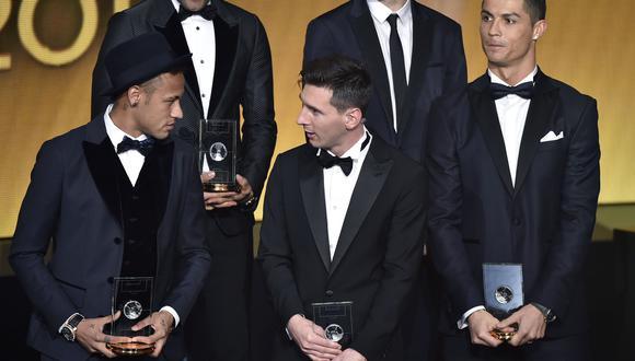 Neymar y Lionel Messi se enfrentarán en el Barcelona-PSG. (Foto: AFP)