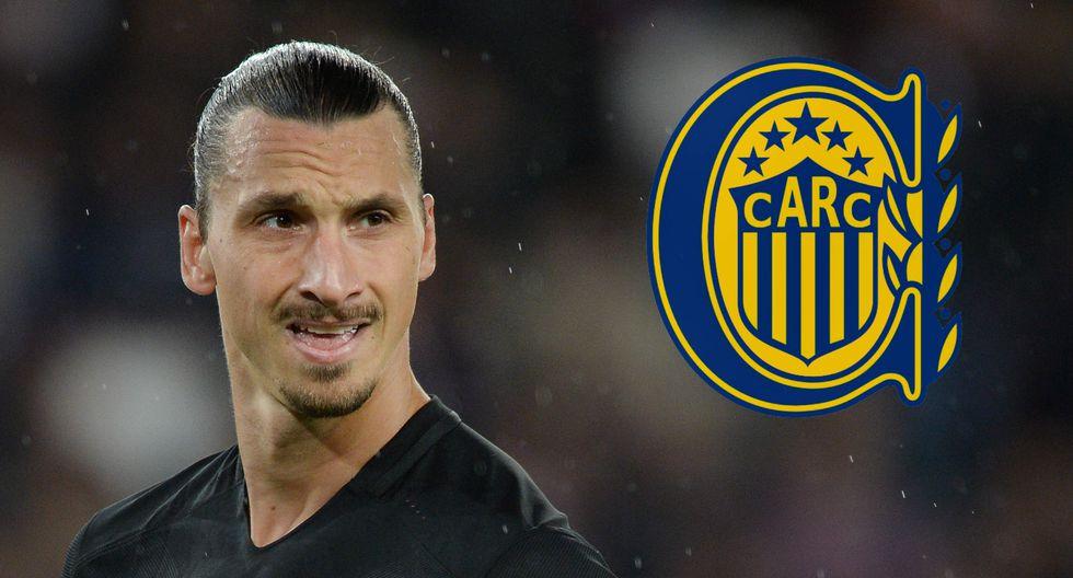 Zlatan Ibrahimovic posó con camiseta de Rosario Central [FOTOS]