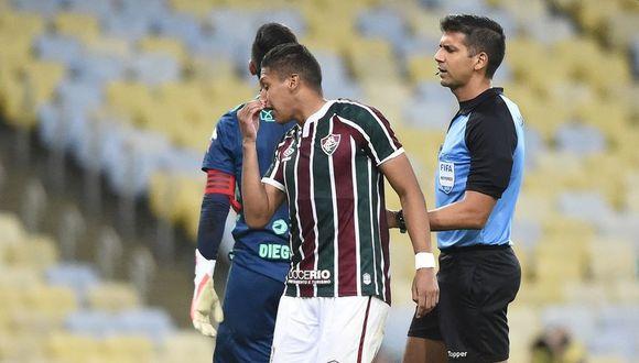 Fernando Pachecho llegó a inicios de año a Fluminense procedente de Sporting Cristal. (Foto: NetFlu)