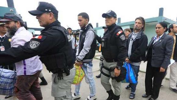 Extranjeros que cometan delitos serán regresados a su país de origen. Foto: Andina