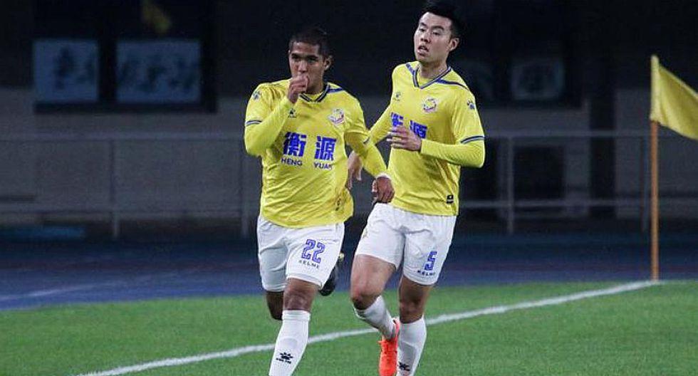 Roberto Siucho marcó su primer golazo en China con Shanghai Shenxin | VIDEO