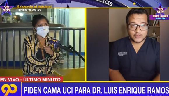 Luis Enrique Ramos Correa ha estado, a lo largo de la pandemia, en la primera línea de combate al COVID-19. (Foto: Latina)