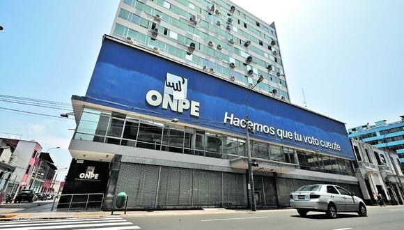 La ONPE publicó los resultados al 100% de actas procesadas. (Foto: Archivo de GEC)