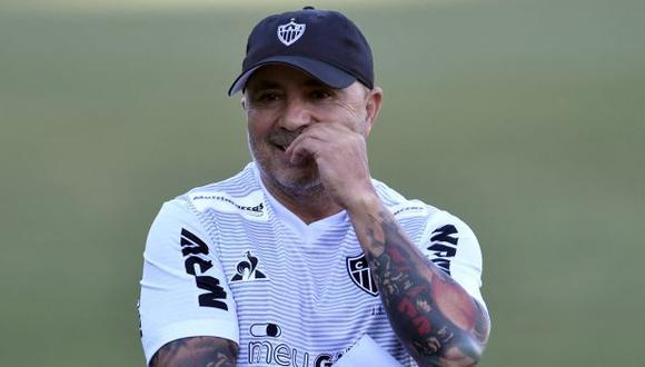 Jorge Sampaoli tuvo en Sevilla su primera experiencia europea. (Foto: AFP)