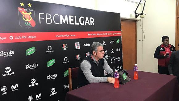 Alianza Lima   Pablo Bengoechea se refirió a las declaraciones de Comizzo tras triunfo ante Melgar   VIDEO