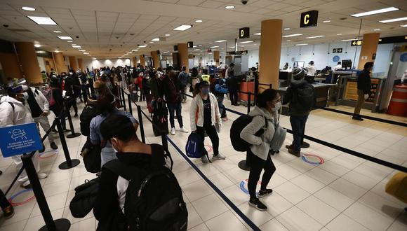 El reinicio de vuelos internacionales se reanudarán el próximo 5 de octubre. (Foto: Jesus Saucedo / GEC)