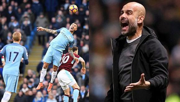Premier League: Burnley le empata sobre la hora al Manchester City