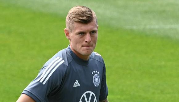 Toni Kroos se retiraría de la selección alemana. (Foto: AFP)