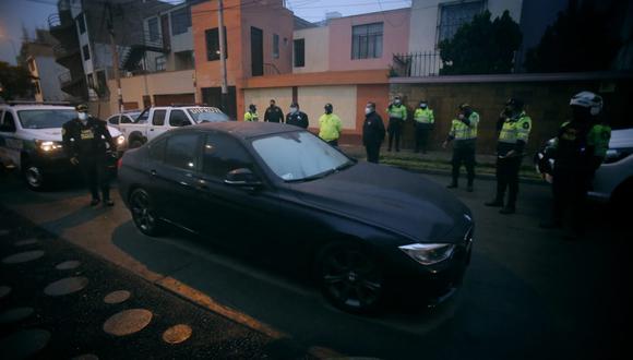 Delincuentes suelen abandonar la unidad robada en algún punto, según la Diprove. Foto: César Grados/@photo.gec