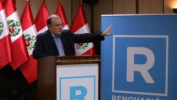 Rafael López Aliaga busca llegar a la presidencia con Renovación Popular. (Foto: Britani)
