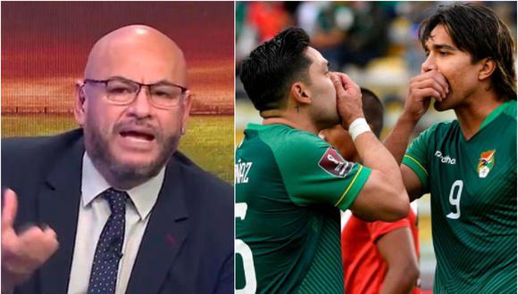Peter Arévalo admitió que sufrió con derrota peruana en La Paz.