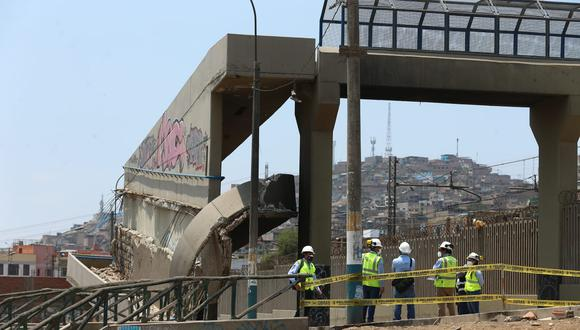 """La concesionaria detalló que se realizarán las """"evaluaciones de ingeniería"""" a estos puentes peatonales y en las próximas semanas se instalarán puentes temporales para permitir el cruce de las personas. Fotos: Alessandro Currarino / @photo.gec"""